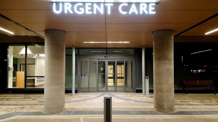 The Urgent Care Centre at Peel Memorial.