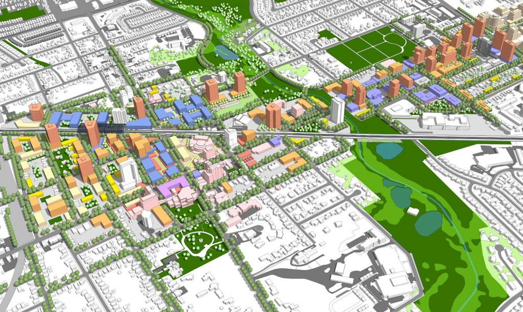 Vision for Downtown Brampton, a healthcare, education, arts and life sciences hub.